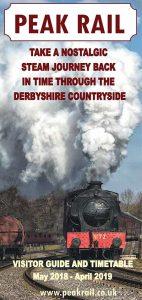 Peak Rail heritage steam railway brochure-2018-2019