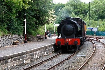 matlock station - peak rail steam railway