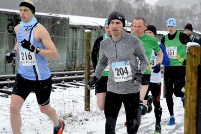 Race the train event, Matlock Athletic Club