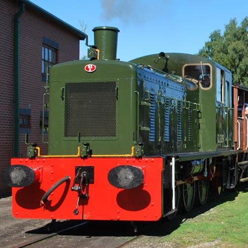 heritage shunters trust gala Peak Rail Derbyshire