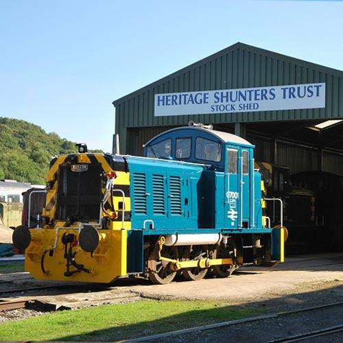 heritage shunters trust Peak Rail Derbyshire