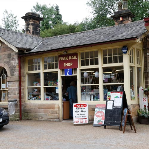 matlock tourist information peak rail shop