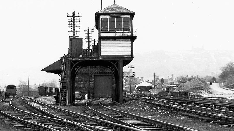 Millers Dale and Peak Forest Lines 9 Buxton Railway Station Photo Midland