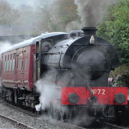 group visits parties steam train derbyshire