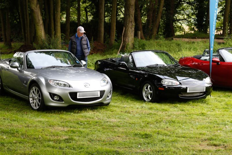 25th anniversary mx5 rally peak rail