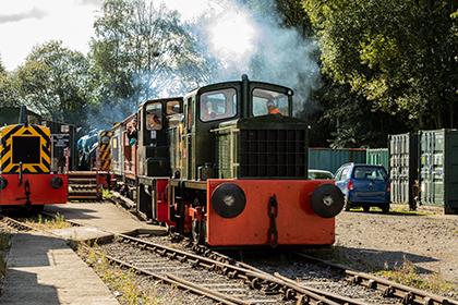 heritage shunters peak rail