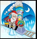 Santa Special Steam Train rides