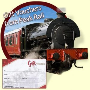 Peak Rail Gift Vouchers