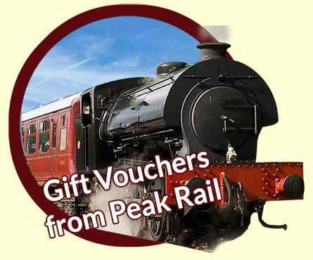 Steam train driver gift vouchers