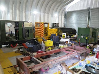 ashover light railway shed