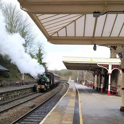 Eustace Forth visits Peak Rail Feb half term 2020