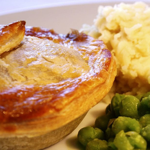 pie and peas evening