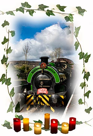 Eustace becomes Santa's Steam Train for Peak Rail