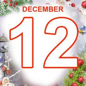 12th December 2020