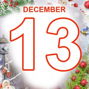 13th December 2020