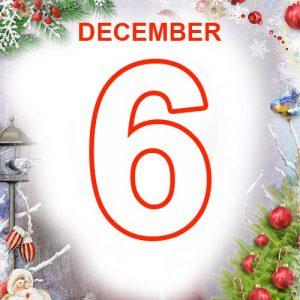 6th December 2020