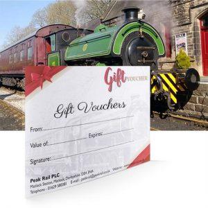 Peak Rail Gift Vouchers